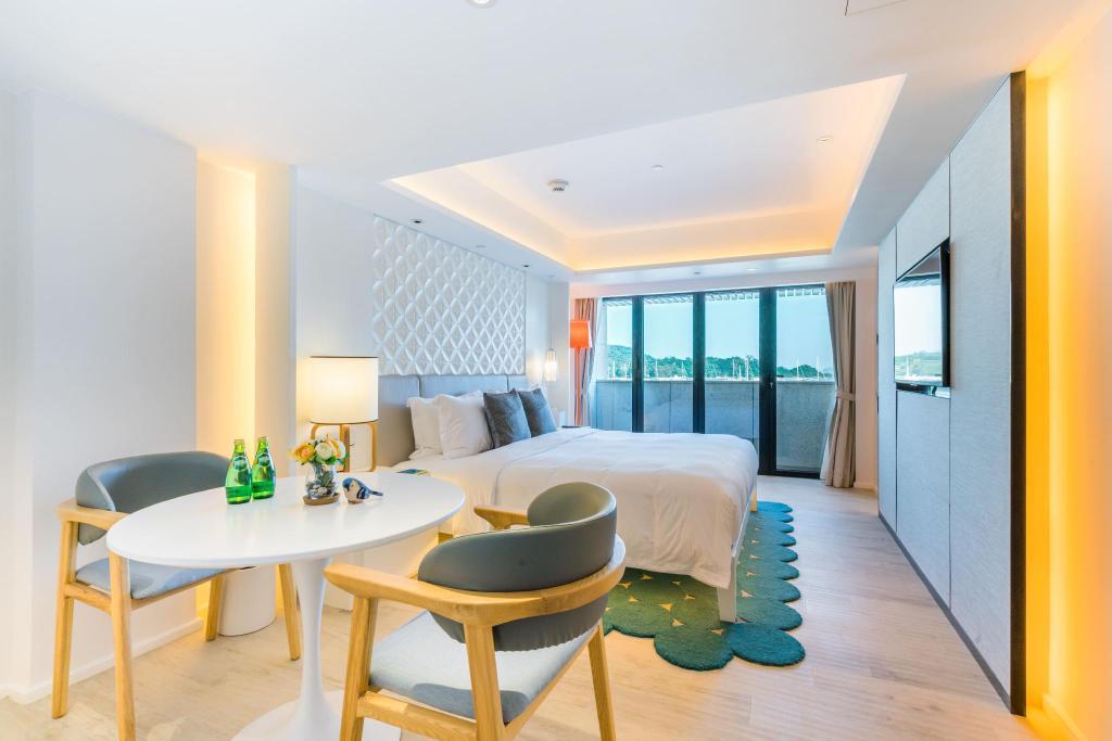 西貢The pier hotel-海景露台房Superior Terrace