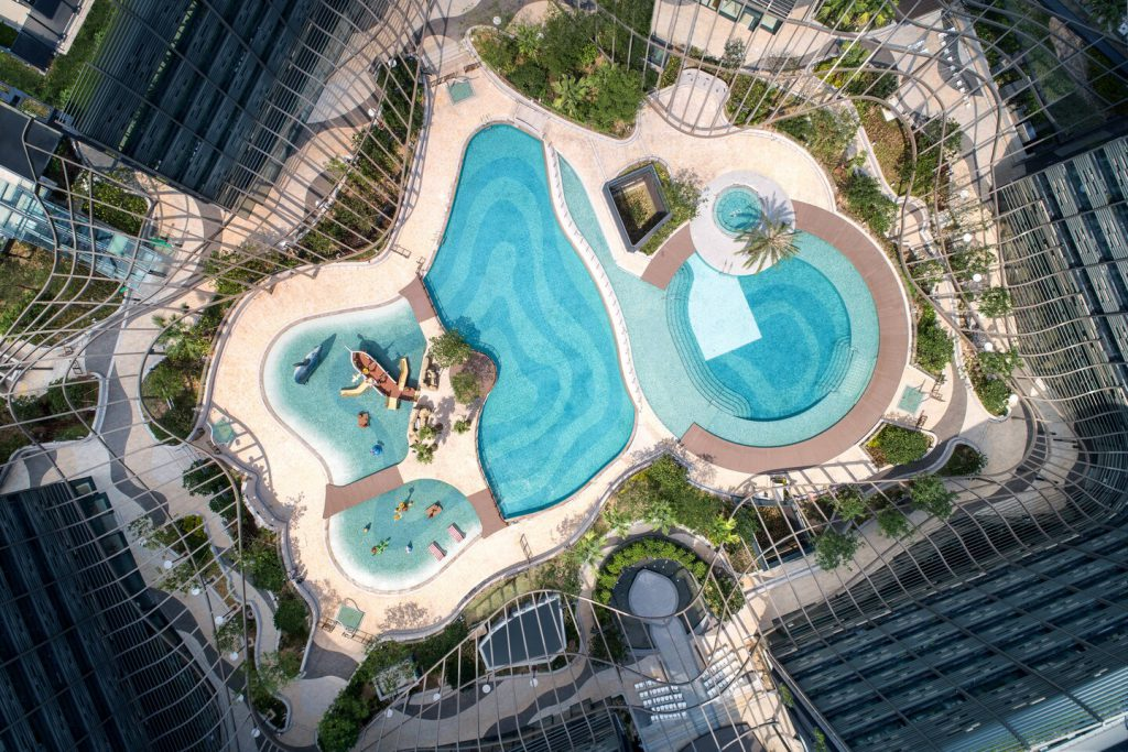 海洋公園萬豪酒店 Hong Kong Ocean Park Marriott Hotel_游泳池lagoon