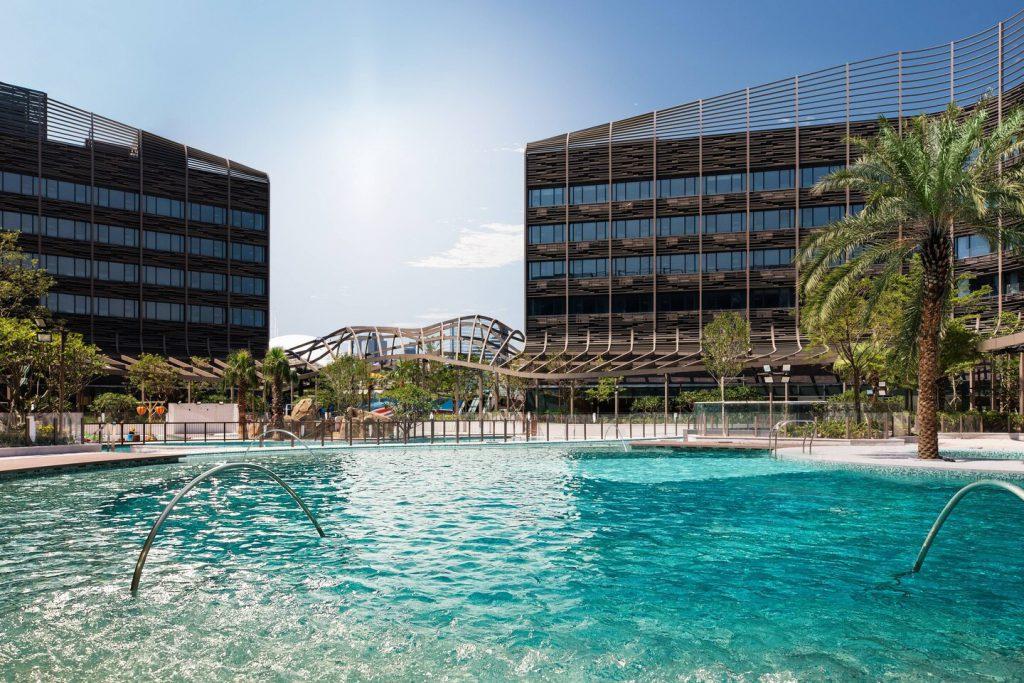 海洋公園萬豪酒店 Hong Kong Ocean Park Marriott Hotel_礁湖主題游泳池Central lagoon