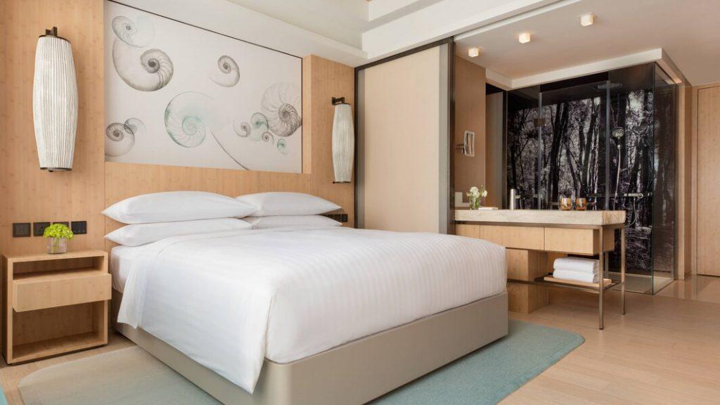 海洋公園萬豪酒店 Hong Kong Ocean Park Marriott Hotel_行政客房Club Room M Club Lounge Access