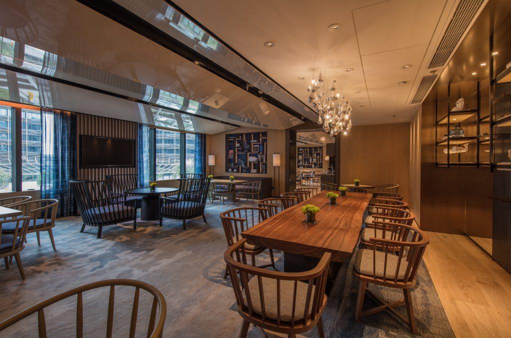 海洋公園萬豪酒店 Ocean Park Marriott Hotel_萬豪貴賓酒廊M Club Lounge禮遇